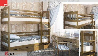 Кровать двухярусная Ева