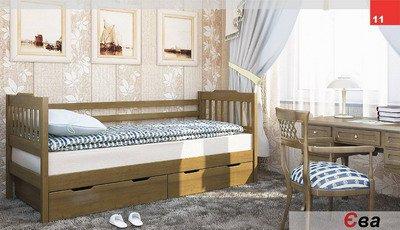 Кровать одноярусная Ева