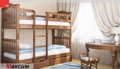 Кровать двухярусная Максим