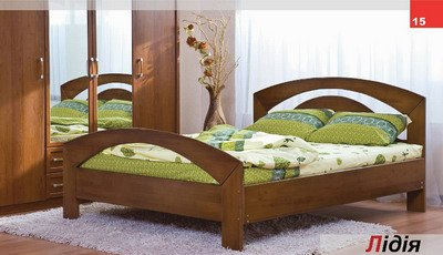 Кровать двухспальная Лидия
