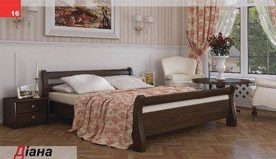 Кровать двухспальная Диана