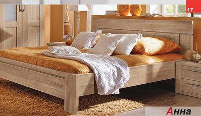 Кровать двухспальная Анна