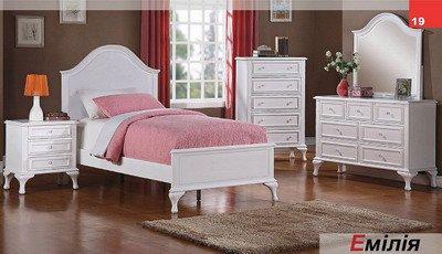 Кровать односпальная Эмилия