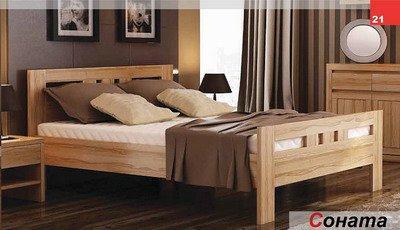 Кровать двухспальная Соната