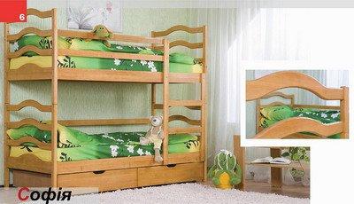 Кровать двухярусная София