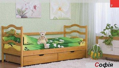 Кровать одноярусная София