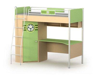 кровать для детей со столом