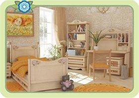 Светлая классическая мебель