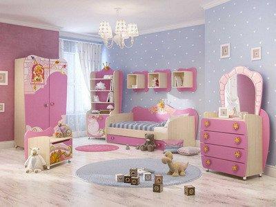Детская мебель серии Cinderella