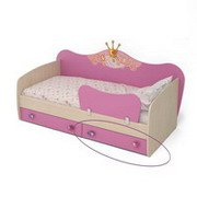 Детская кровать от 3 лет с бортиками