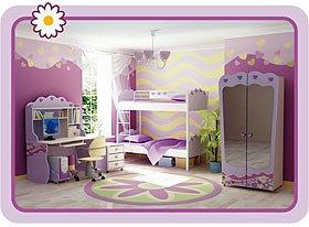 Детская мебель серии Pink