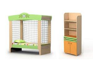 Мебель детская спальня