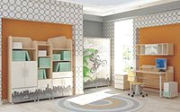 Купить белую мебель для детской